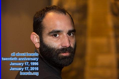all about beards' twentieth anniversary