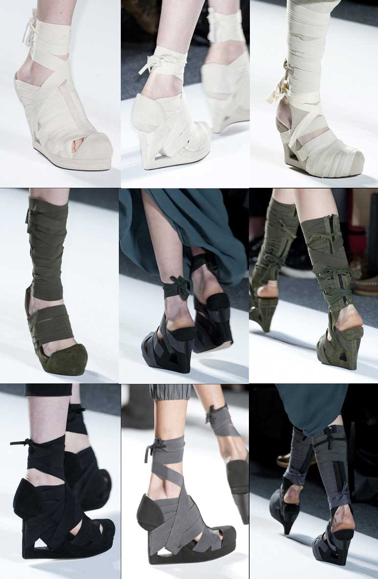 Carmen Marc Valvo. Shoes. Mercedes Benz Fashion Week New York. Fall-Winter 2013-2014