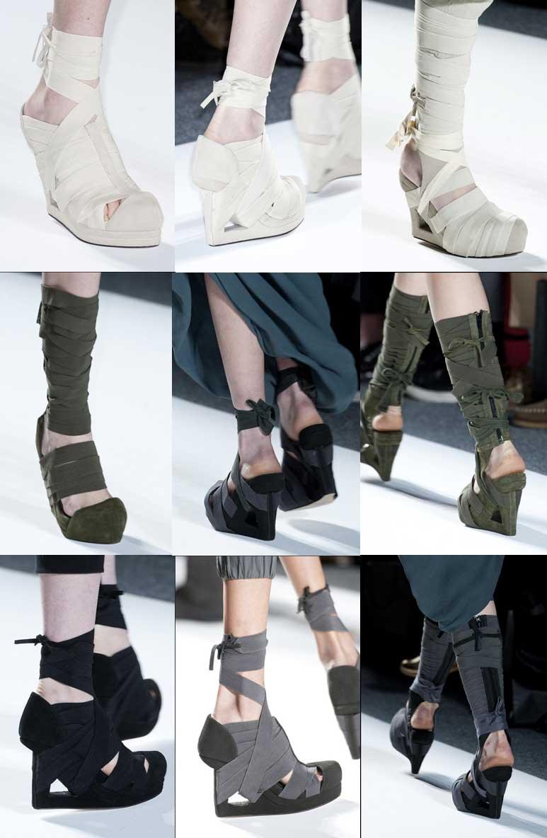 Carmen Marc Valvo. Shoes. Mercedes Benz Fashion Week New York. Fall-Winter 2013-2014