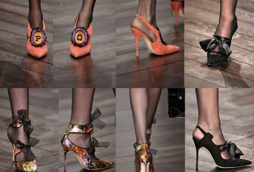 Manolo-Blahnik for PPQ | London Fashion Week | Fall-Winter 2013-2014 | Shoes. Calzado
