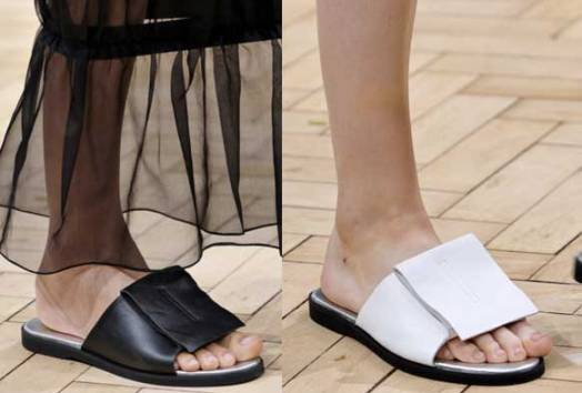 J. W. Anderson | London Fashion Week / Semana de la Moda de Londres | Spring-Summer 2014 | Primavera-Verano 2014 | Shoes / Calzado