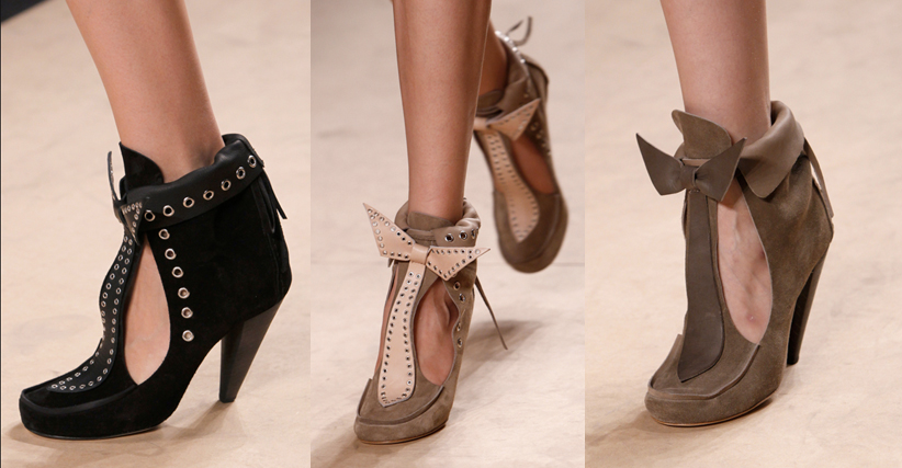 Isabel Marant | Paris Fashion Week / Semana de la Moda de Paris | Spring-Summer 2014 | Primavera-Verano 2014 | Shoes / Calzado