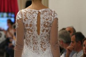 Hiedra Dress Back Transparency Detail. Collection Vintage by Jordi Dalmau