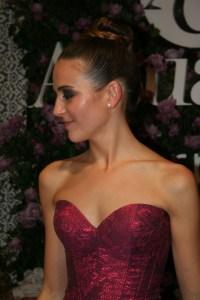 Model Laia Serra, Winner of Dona D Title / Modelo Laia Serra, Ganadora del Premio Dona D