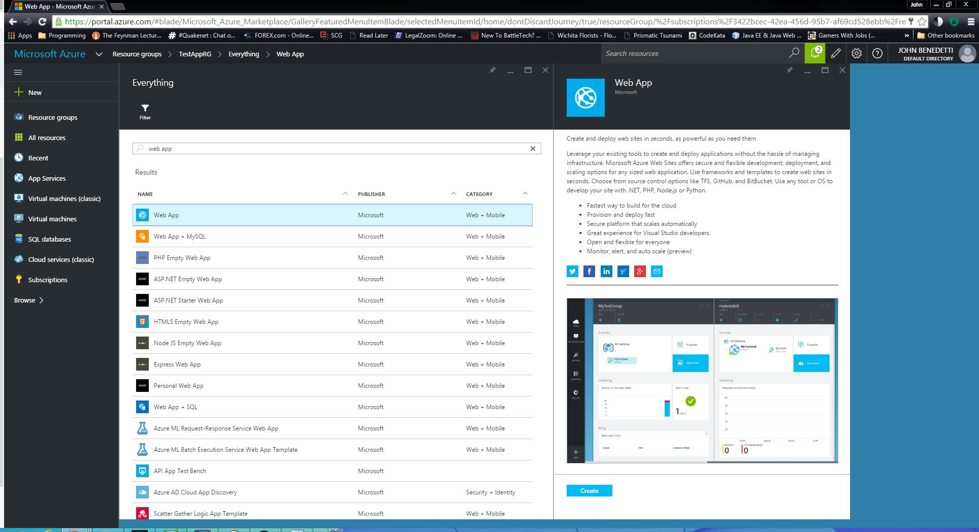 How To Provision An Environment In Azure Benedetti Tech