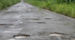 Potholes galore!
