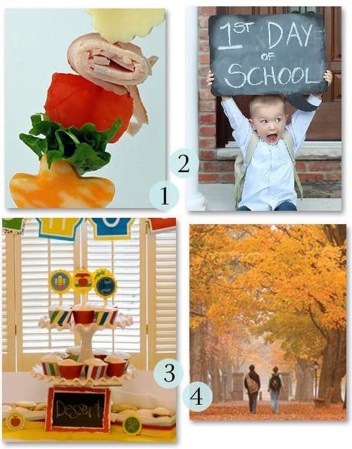 Back to school Pinterest post