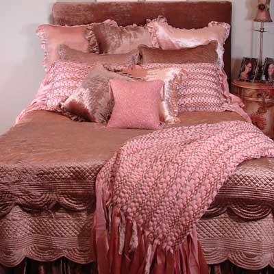 elizabeth velvet dorm bedding