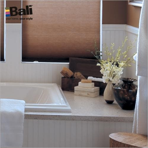 Cellular Shades for the Bathroom