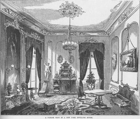 Victorian Era Historical Window Treatments