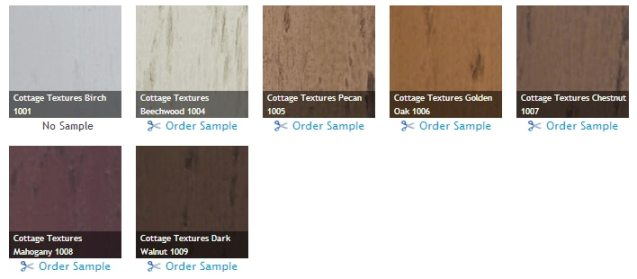 Blinds.com Brand Faux Wood Blinds - New Cottage Textures Collection