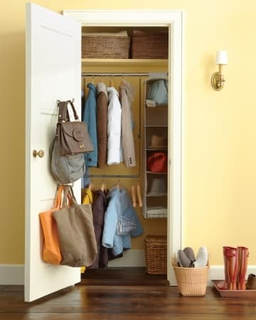 Let Your Coat Closet Live Up to It's Storage Potential