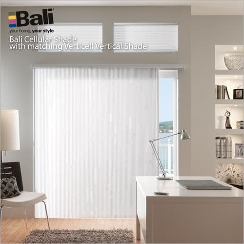 """Bali Verticell 3.8"""" Double Cell Light Filtering Shades From Blinds.com"""