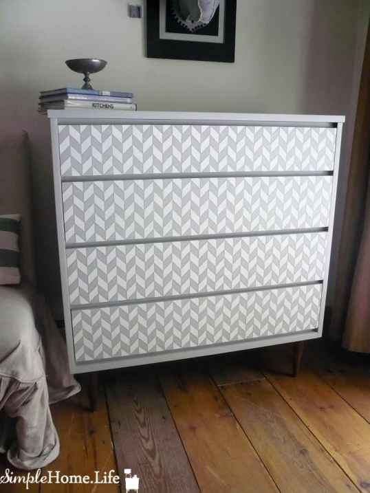 Simple Home Life Herringbone Dresser