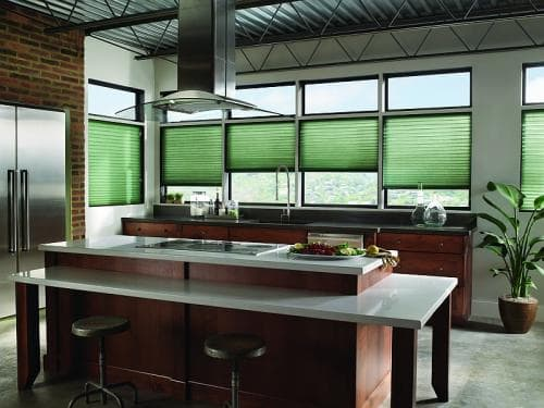 Blinds.com Brand No Hole Privacy Pleated Shades