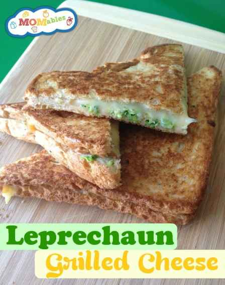 Leprechaun Grilled Cheese