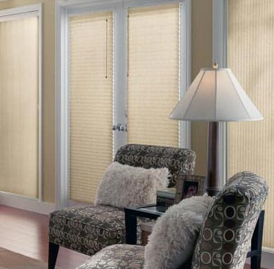 "Bali 3/8"" Double Cell Light Filtering Shades"