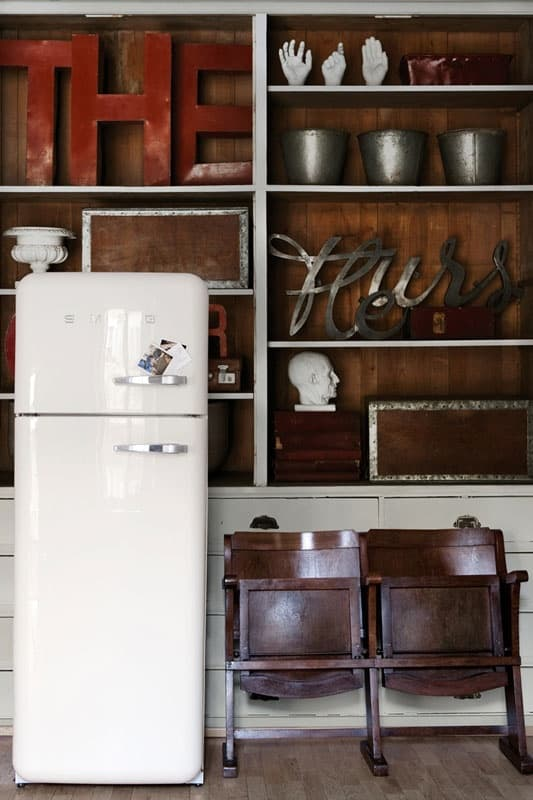 Smeg Fridge Eclectic