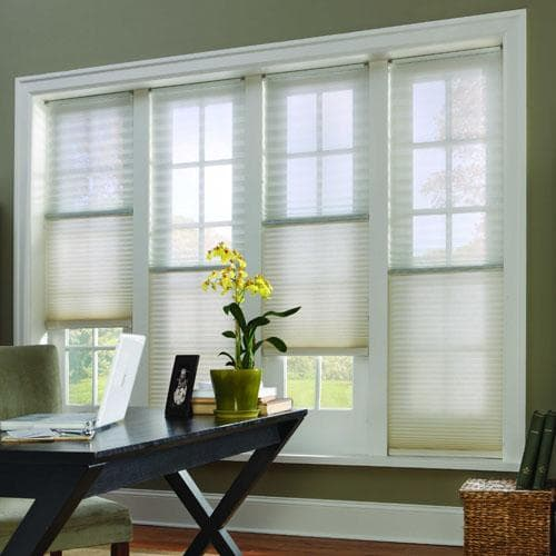 sheer beauty new cellular shades with trilight the. Black Bedroom Furniture Sets. Home Design Ideas