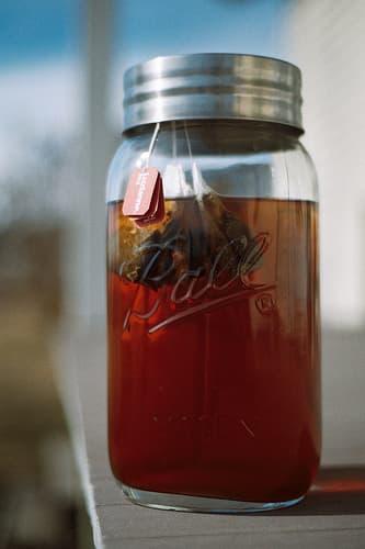 Sun Tea via Flickr user The Goat Whisperer