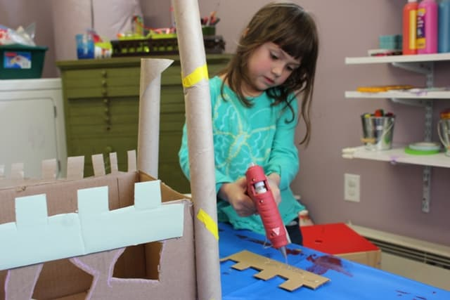 The Artful Parent Cardboard Castle
