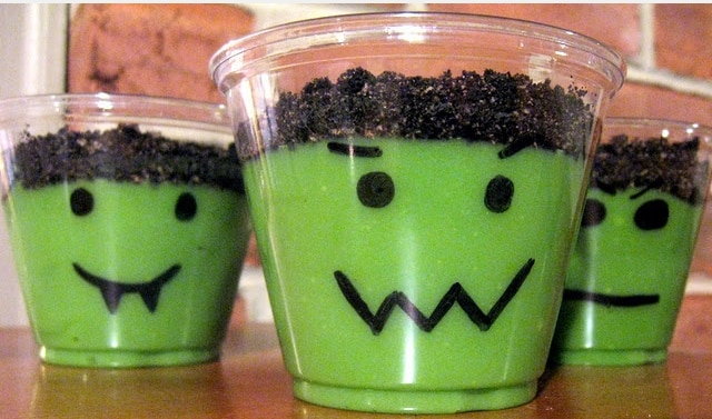 frankenstein cups