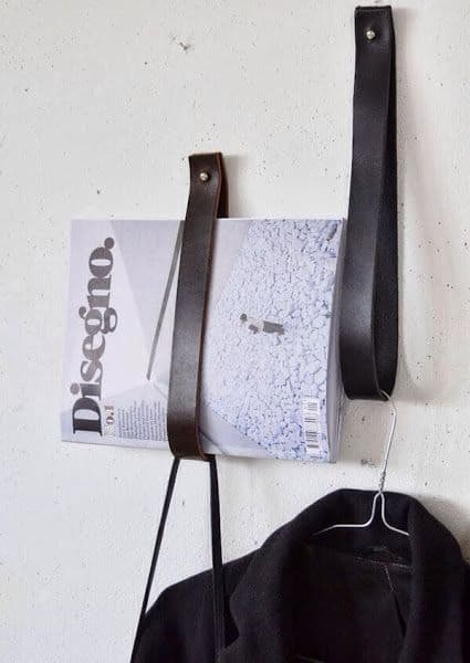 Leather Wall Hooks