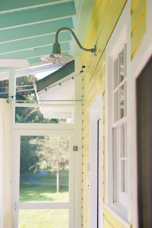 Tin Porch light