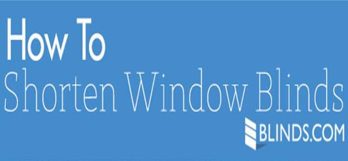 shorten blinds