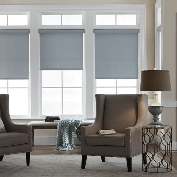 Make your dorm room a sleep sanctuary with blackout blinds for Best blackout window treatments