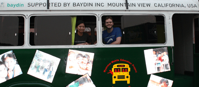 Baydin Gives Back: Tea Shops and a Used School Bus