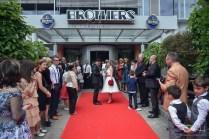 der Hochzeitsfotograf auf dem roten Teppich, italienische russische Traum Mottohochzeit, Brothers Nürnberg