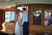 Romantische Augenblicke auf See, der Hochzeits Fotograf amTegernsee