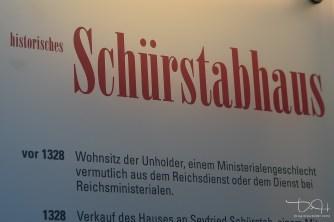 Historisches Schuerstabhaus! Station der Historischen Meile Nuernberg. Hochzeitsfotograf im Schuerstabhaus.