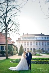 Der Hochzeitsfotograf in der Orangerie Ansbach! Wumdervolle Location für besondere Brautbilder.