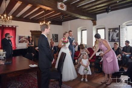 Der Hochzeits Fotograf im Schloss Henfenfeld, das Pfinzingschloss