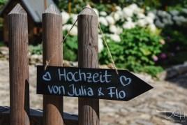 Der Hochzeitsfotograf im Laeidlhuf bei Hersbruck.