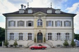 Der Hochzeitsfotograf in der Hochzeitslocation Villa Wenkenhof.