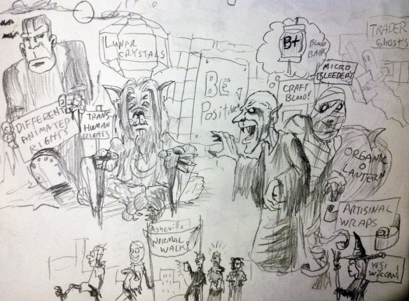 AVL Halloween ideas for cartoons