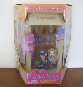 Bratz Mall E-spresso shop in package