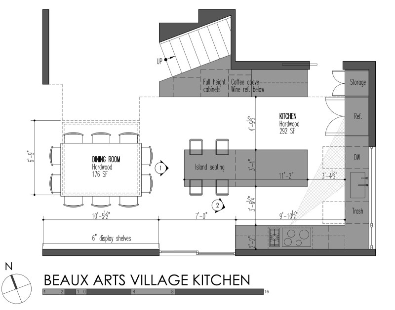 Large Of Standard Kitchen Layouts