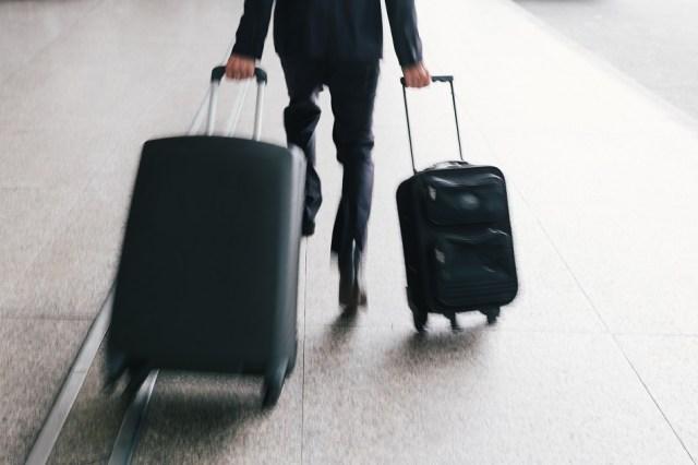 Corriendo por el aeropuerto