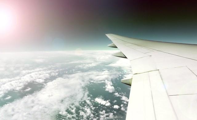 Vistas en avión