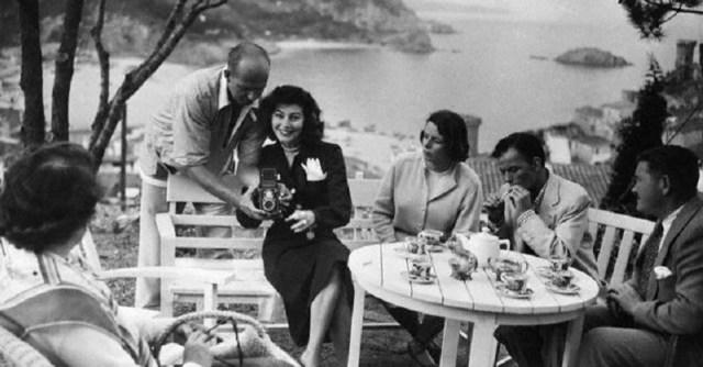 Ava Gadner y Frank Sinatra, Cala Canyet, Tossa de Mar