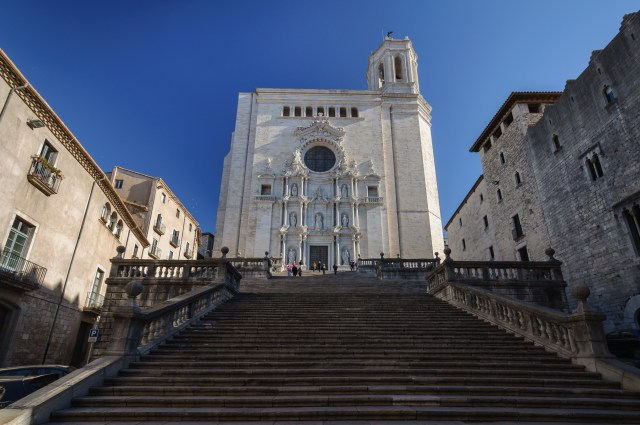 The Cathedral of Girona, Catalonia, Spain.