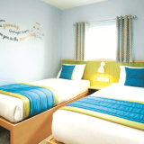 Butlins Minehead Chalets twin bedroom