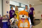 Rainbow and the Skyline Gang with GOSH volunteers