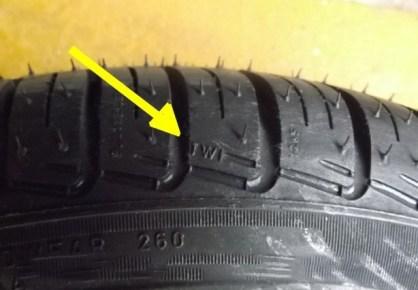 pneus marcações