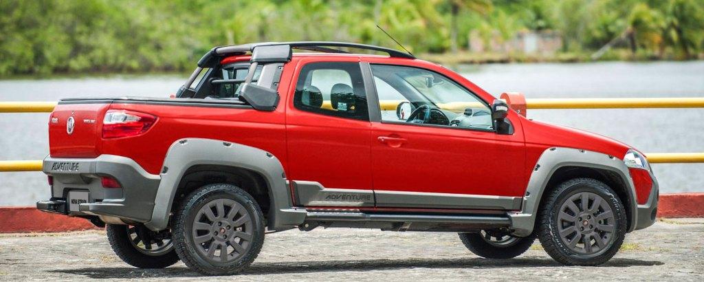 Fiat Strada em crescimento