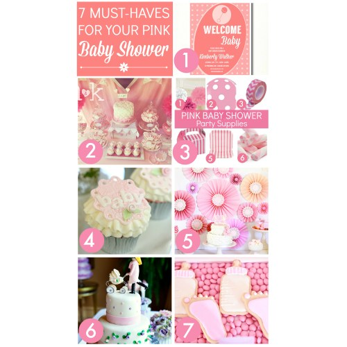 Medium Crop Of Girl Baby Shower Ideas